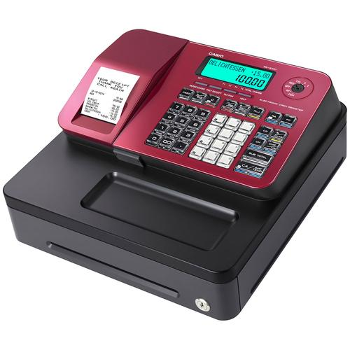 Casio SE-S100 small drawer cash register 2000 PLUs Thermal Inkjet LCD product photo