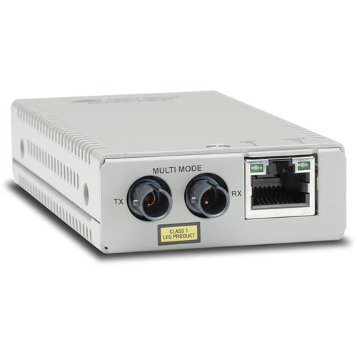 Allied Telesis AT-MMC200/ST-60 network media converter 100 Mbit/s 1310 nm Multi-mode Silver product photo  L