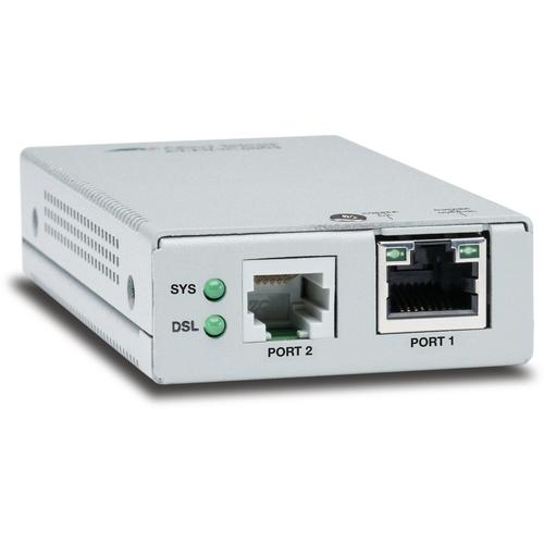 Allied Telesis AT-MMC6005-60 Network transmitter & receiver 10,100,1000 Mbit/s Silver product photo  L
