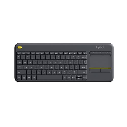Logitech K400 Plus keyboard RF Wireless QWERTY Dutch Black product photo