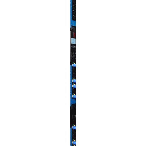 APC Rack PDU 2G Metered by Outlet with Switching ZeroU 11.0kW 230V (21) C13 & (3) C19 Blue Silk power distribution unit (PDU) 0U 24 AC outlet(s) product photo