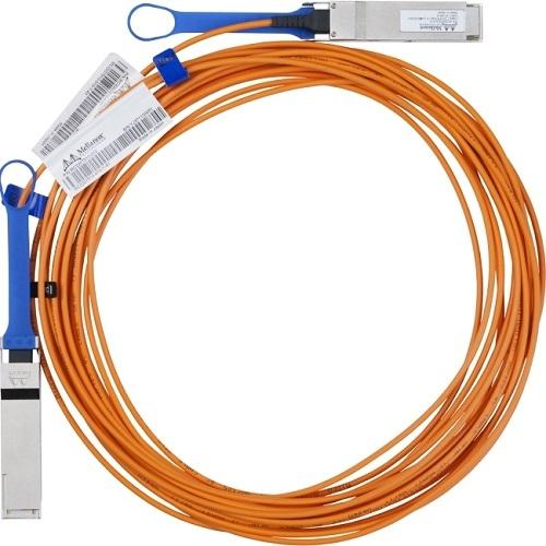 Hewlett Packard Enterprise 3 Meter InfiniBand FDR QSFP V-series Optical Cable InfiniBand cable 3 m product photo