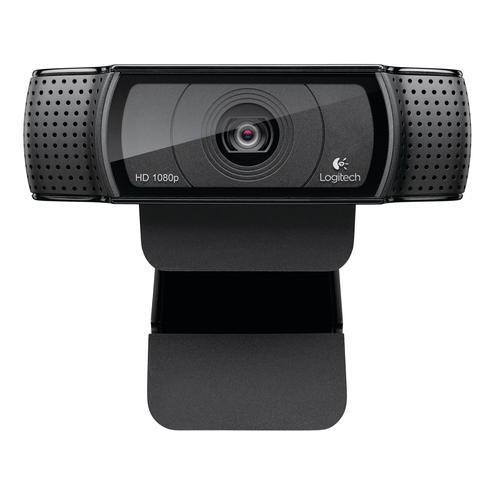 Logitech C920 webcam 15 MP 1920 x 1080 pixels USB 2.0 Black product photo
