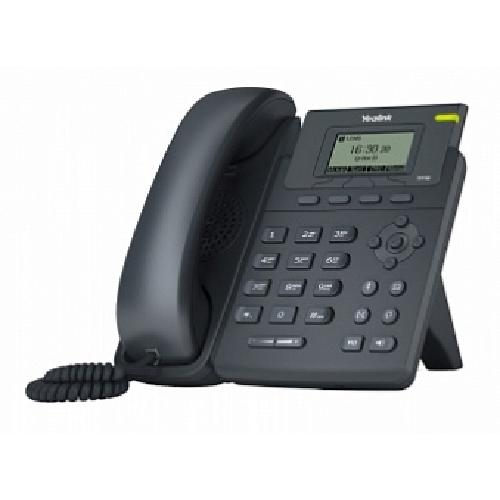 Yealink SIP-T19P E2 IP phone Black Wired handset LCD product photo
