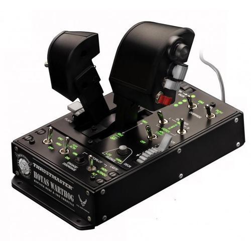 Thrustmaster HOTAS Warthog Dual Throttles Flight Sim PC Black - Game