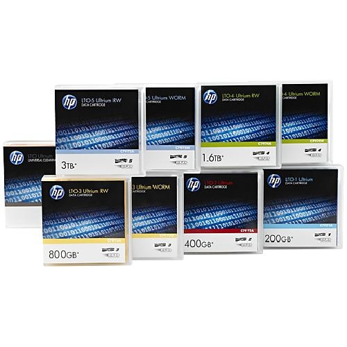 Hewlett Packard Enterprise LTO-7 Ultrium Non Custom Labeled Data Cartridge 20 Pack 1.27 cm product photo