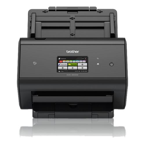 Brother ADS-2800W scanner 600 x 600 DPI ADF scanner Black A4 product photo