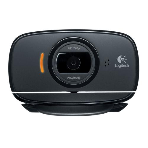 Logitech C525 webcam 8 MP 1280 x 720 pixels USB 2.0 Black product photo