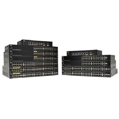 Cisco SG250-26-K9-EU network switch Managed L2 Gigabit Ethernet (10/100/1000) Black product photo