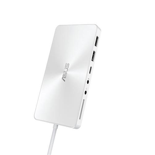 ASUS Universal Dock Wired USB 3.0 (3.1 Gen 1) Type-C White product photo