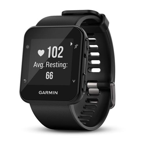 Garmin Forerunner 35 sport watch Black 128 x 128 pixels Bluetooth