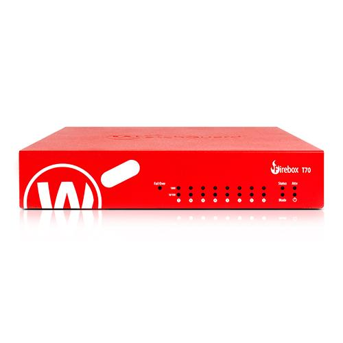 WatchGuard Firebox T70 hardware firewall 4000 Mbit/s product photo
