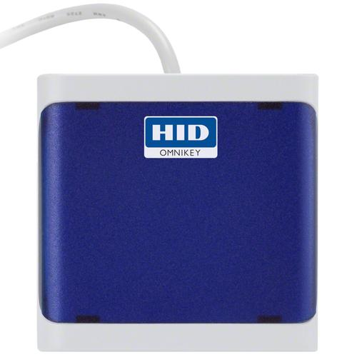 HID Identity OMNIKEY 5022 smart card reader Indoor Blue USB 2.0 product photo