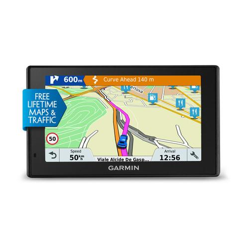 "Garmin DriveSmart 51 LMT-S navigator 12.7 cm (5"") Touchscreen TFT Fixed Black 173.7 g product photo"