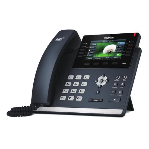 Yealink SIP-T46S IP phone Black Wired handset LCD 16 lines product photo