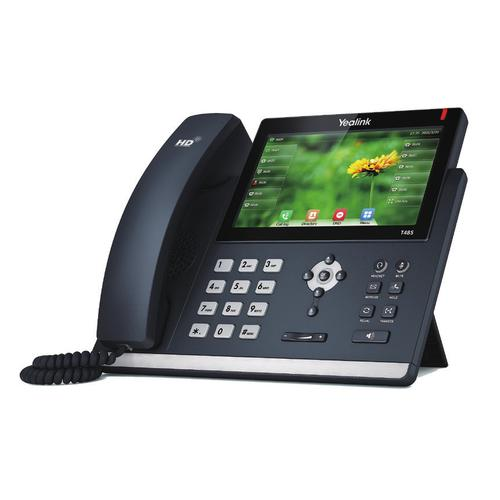 Yealink SIP-T48S IP phone Black Wired handset LCD 16 lines product photo