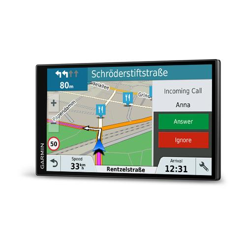 "Garmin DriveSmart 61 LMT-D navigator 17.6 cm (6.95"") Touchscreen TFT Fixed Black 243 g product photo"