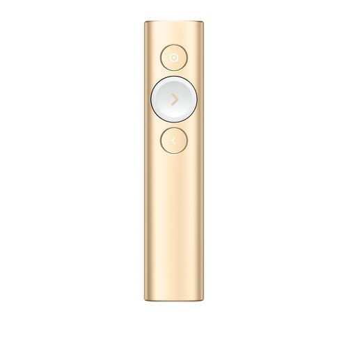 Logitech Spotlight wireless presenter Bluetooth/RF Gold product photo
