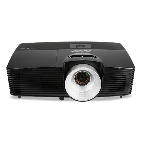 Acer X1226H data projector 4000 ANSI lumens DLP XGA (1024x768) Ceiling-mounted projector Black product photo  L