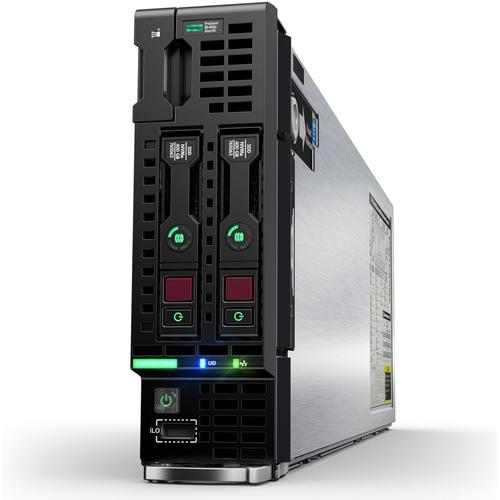 Hewlett Packard Enterprise ProLiant BL460c Gen10 server 1.86 GHz Intel® Xeon® 5000 Sequence 5120 Blade product photo
