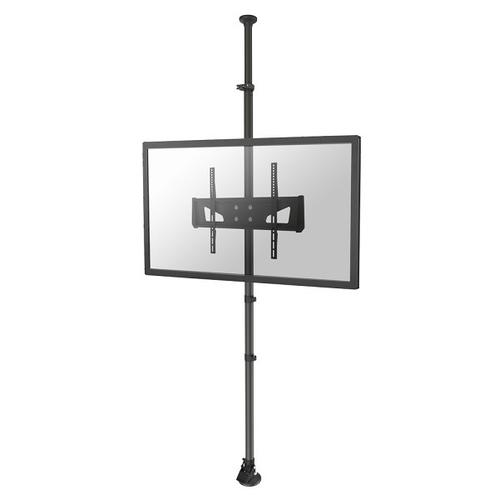 "Newstar TV/Monitor Floor to Ceiling Mount for 37""-65"" Screen, Height Adjustable - Black product photo"