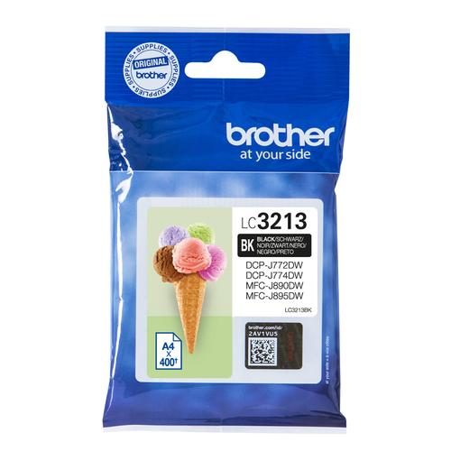 Brother LC-3213BK ink cartridge Original Black product photo