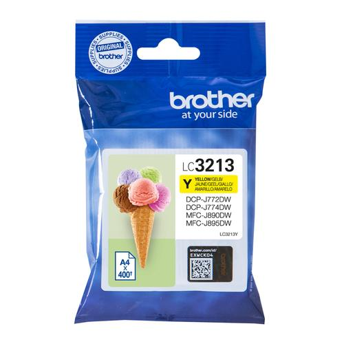 Brother LC-3213Y ink cartridge Original High (XL) Yield Yellow product photo