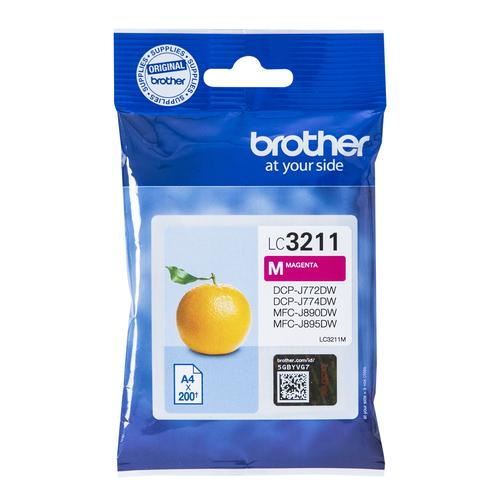 Brother LC-3211M ink cartridge Original Magenta product photo