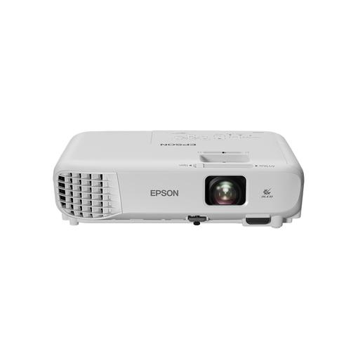 Epson EB-W05 data projector 3300 ANSI lumens 3LCD WXGA (1280x800) Desktop projector White product photo