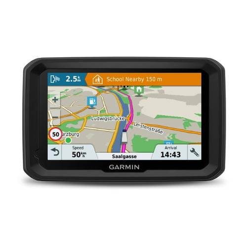 "Garmin dēzl 580 LMT-D navigator 12.7 cm (5"") Touchscreen TFT Fixed Black,Grey 234 g product photo"