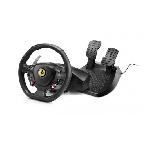 Thrustmaster T80 Ferrari 488 GTB Edition Steering wheel + Pedals PlayStation 4 Black product photo