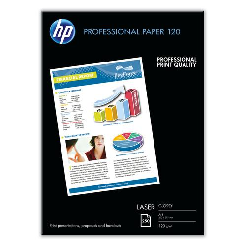 HP CG964A printing paper A4 (210x297 mm) Gloss 250 sheets White product photo