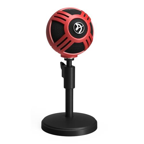 Arozzi Sfera Black, Red Table microphone product photo