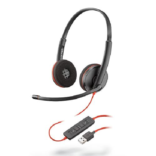 Plantronics Blackwire 3220 Headset Head-band Black product photo