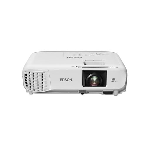 Epson EB-X39 data projector 3500 ANSI lumens 3LCD XGA (1024x768) Desktop projector Grey, White product photo