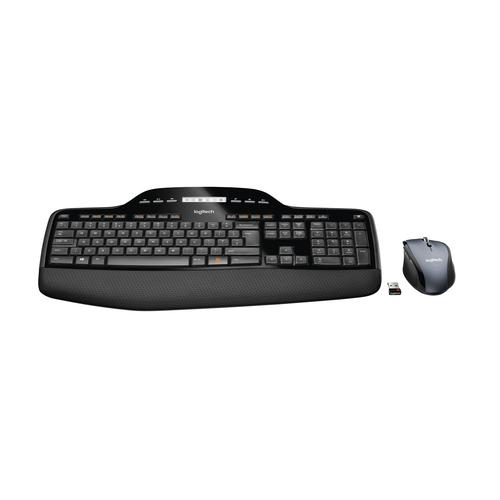 Logitech MK710 keyboard RF Wireless QWERTY US International Black product photo  L