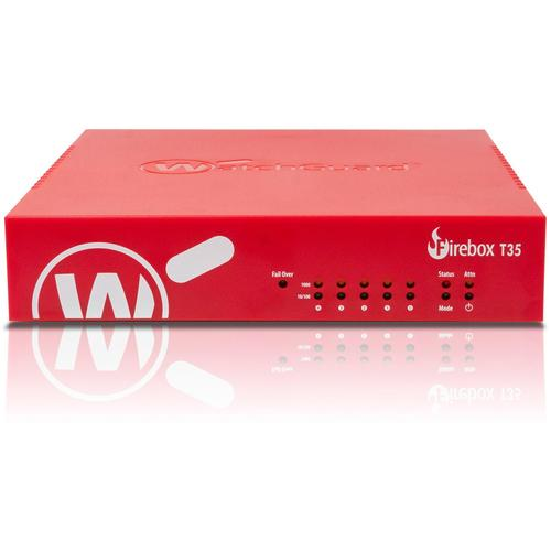 WatchGuard Firebox Trade up to T35-W + 1Y Basic Security Suite (WW) hardware firewall 940 Mbit/s product photo
