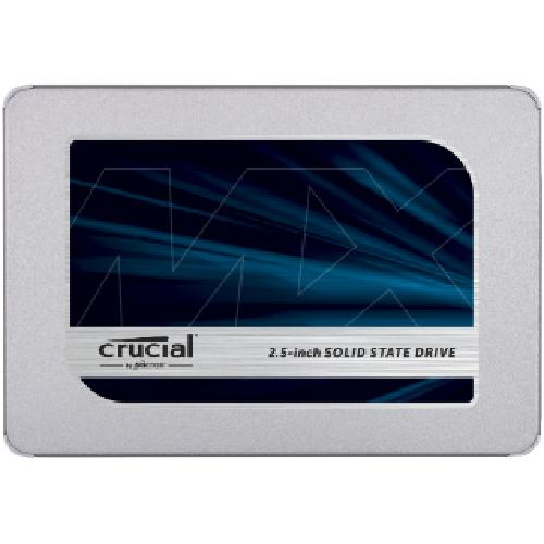 "Crucial MX500 internal solid state drive 2.5"" 500 GB Serial ATA III product photo"