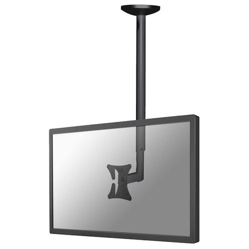"Newstar TV/Monitor Ceiling Mount for 10""-30"" Screen, Height Adjustable - Black product photo"