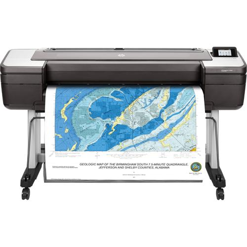 HP Designjet T1700dr 44-in PostScript large format printer Colour 2400 x 1200 DPI Thermal inkjet 1118 x 1676 product photo