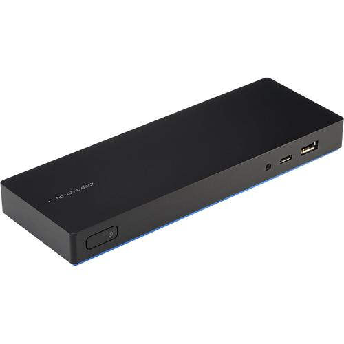 HP USB-C Dock G4 Wired USB 3.0 (3.1 Gen 1) Type-C Black product photo  L