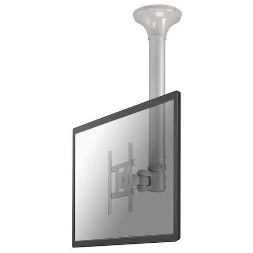 "Newstar TV/Monitor Ceiling Mount for 10""-40"" Screen, Height Adjustable - Silver product photo"