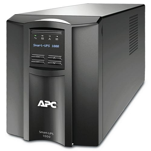 APC SMT1000IC uninterruptible power supply (UPS) Line-Interactive 1000 VA 700 W 8 AC outlet(s) product photo