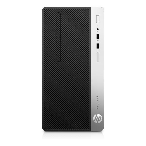 HP ProDesk 400 G5 8th gen Intel® Core™ i5 i5-8500 8 GB DDR4-SDRAM 256 GB SSD Black,Silver Micro Tower PC product photo