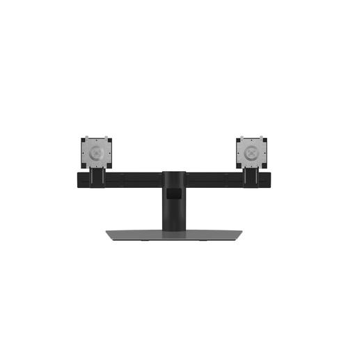 "DELL Dual Monitor Stand 68.6 cm (27"") Aluminum, Black product photo"