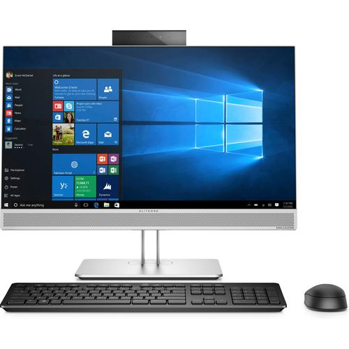 "HP EliteOne 800 G4 60.5 cm (23.8"") 1920 x 1080 pixels Touchscreen 8th gen Intel® Core™ i5 i5-8500 8 GB DDR4-SDRAM 256 GB SSD Black,Silver All-in-One PC product photo"