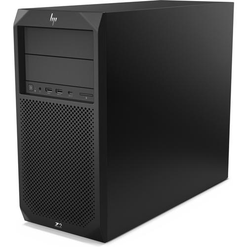 HP Z2 G4 8th gen Intel® Core™ i7 i7-8700K 16 GB DDR4-SDRAM 256 GB SSD Black Tower Workstation product photo  L