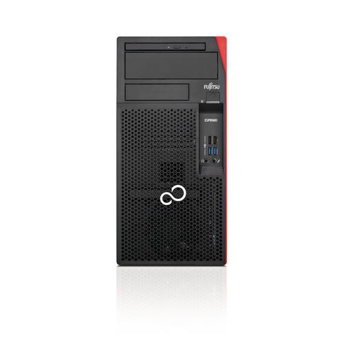 Fujitsu ESPRIMO P558/E85+ 8th gen Intel® Core™ i5 i5-8400 8 GB DDR4-SDRAM 256 GB SSD Black,Red Desktop PC product photo