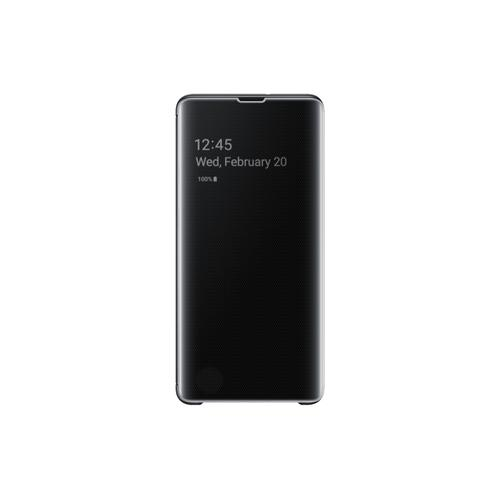 Samsung S10+Clear View Cover Black product photo