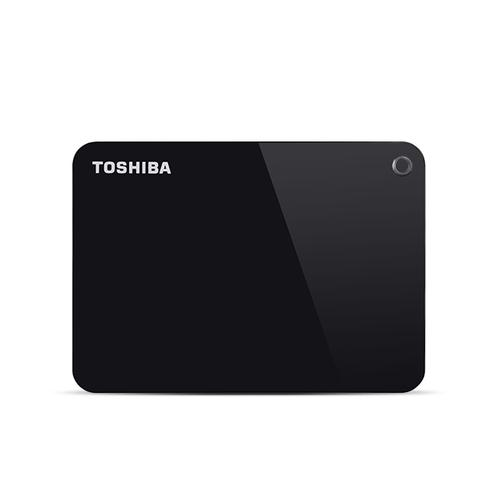 Toshiba Canvio Advance external hard drive 4000 GB Black product photo